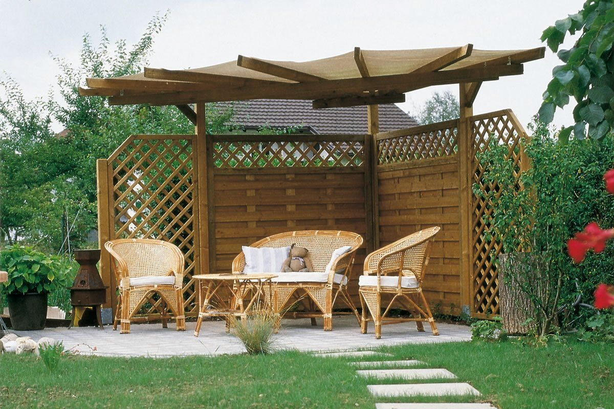 pergola fertig bausatz. Black Bedroom Furniture Sets. Home Design Ideas